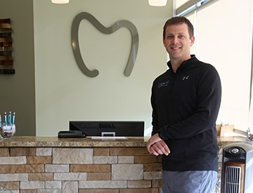 Justin Cromwell who is a dentist in Marysville, OH and owner of Cromwell Dental Care