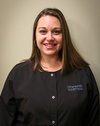 Lisa who is a dental hygienist at Cromwell Dental Care (where you can find our Bellefontaine dentist)