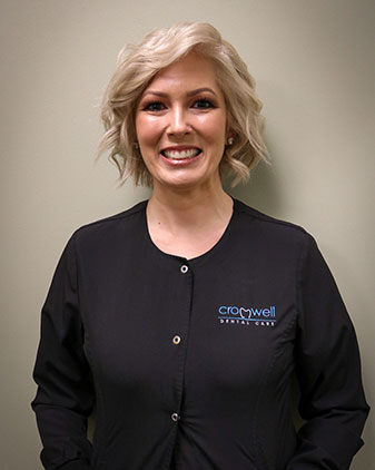 Marie who is the dental assistant at Cromwell Dental